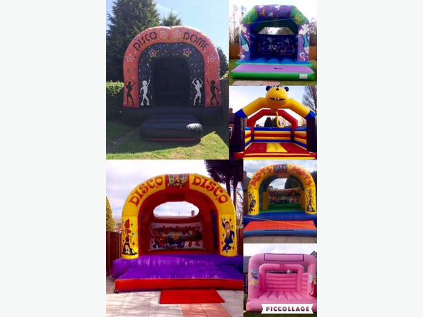 bouncy castle and disco dome for hire