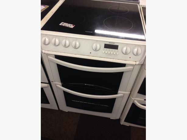 HOTPOINT ELECTRIC COOKER 60CM DOUBLE OVEN02