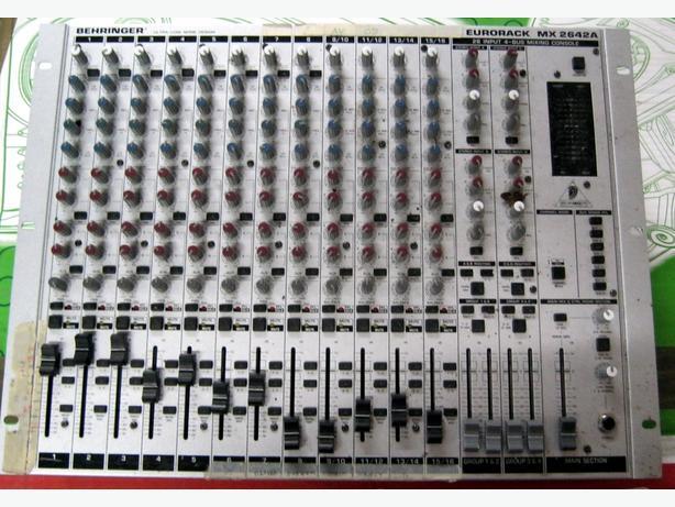 Behringer MX2642A Eurorack Mixer