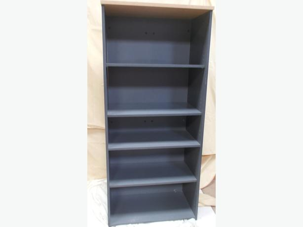 5 Tier Wooden Bookshelf / Office Storage