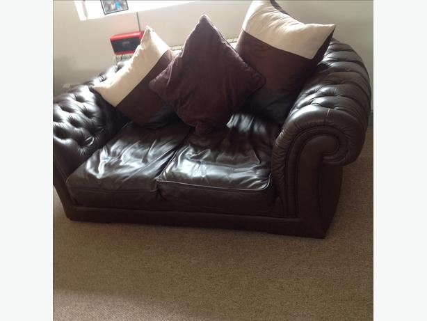 Leather Chesterfield for sale