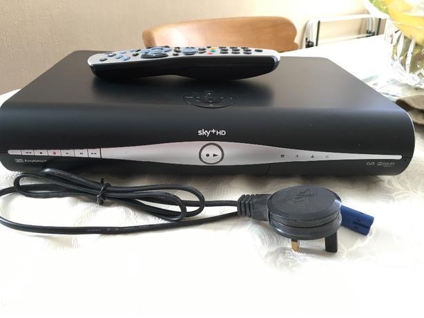 Sky + HD 500gb box x2