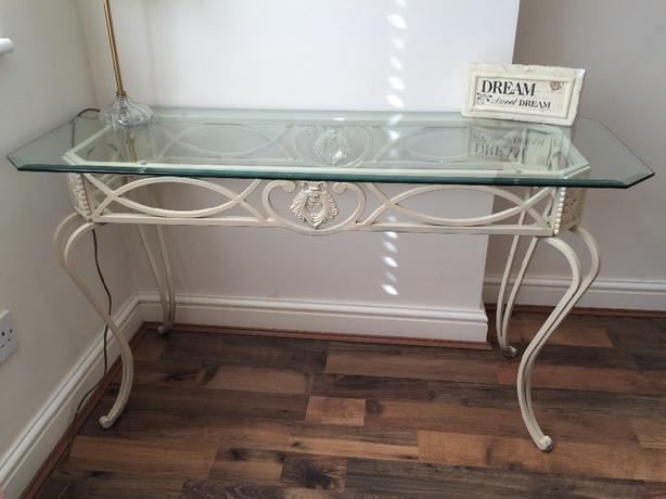 Glass Bedroom Table