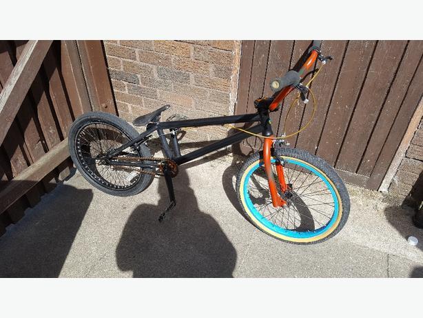 BMX stolen stunt bike