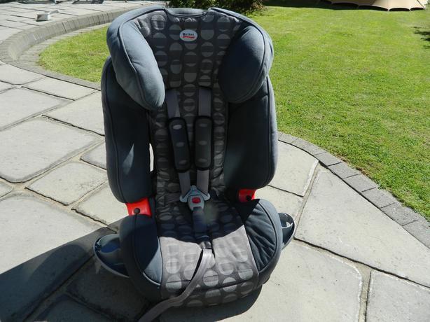 Britax Evolva 123 ULTRA car seat