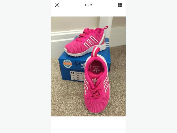 infant adidas flux , uk 3