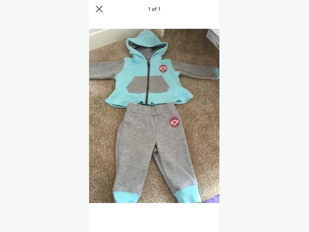 2x converse tracksuits