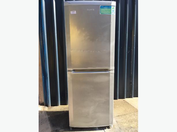 ☀️💎 beko huge fridgefreezer silver free delivery