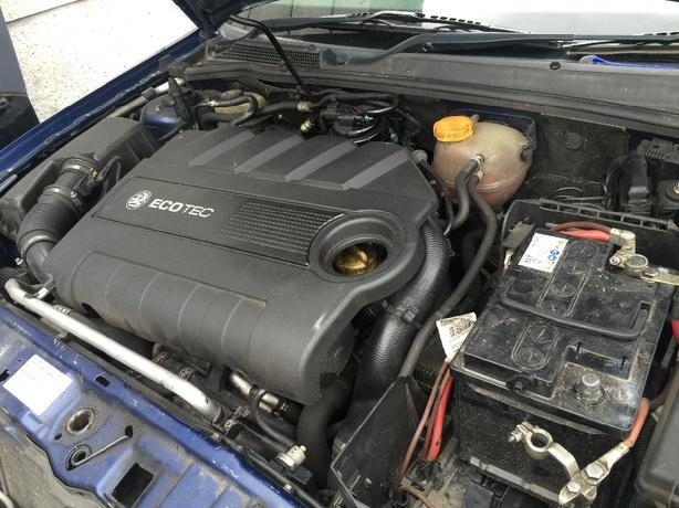 VAUXHALL VECTRA C 1.9 DIESEL 16 VALVE ENGINE COMPLETE