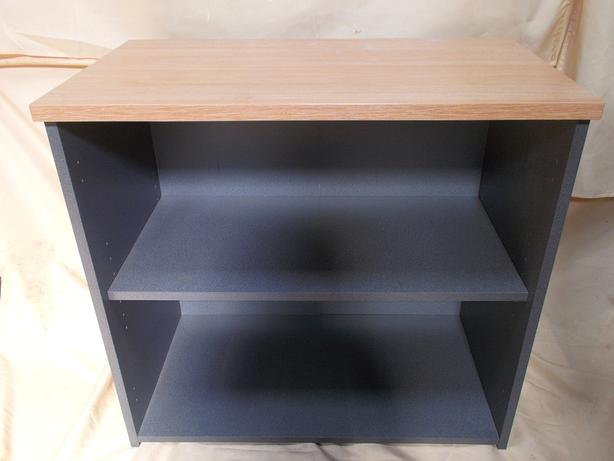 2 Tier Wooden Bookshelf / Office Storage