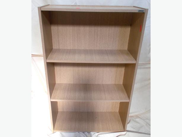 3 Tier Wooden Bookshelf / Office Storage