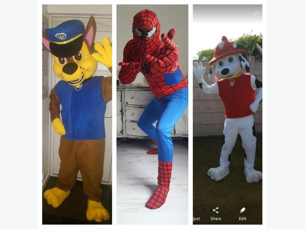 mascots for hire