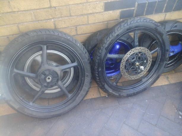 motor bike wheels