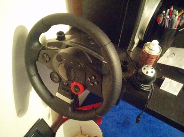 Logitech Driving Force GT Wheel