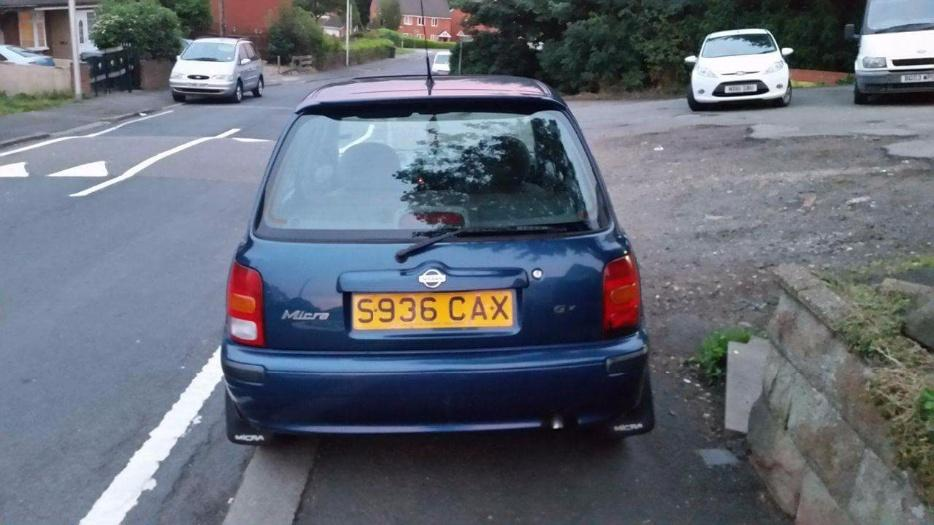 nissan micra 1 3 in good condition 1months tax mot bargain. Black Bedroom Furniture Sets. Home Design Ideas