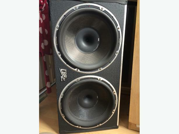 "Vibe Blackdeath Twin 15"" 15,000 WATTS TOTAL!"