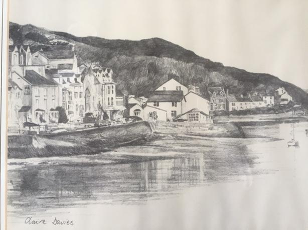 Aberdovey /  framed print by Claire Davies