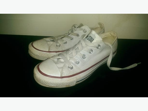 vans size 5 and converse size 4 shoes
