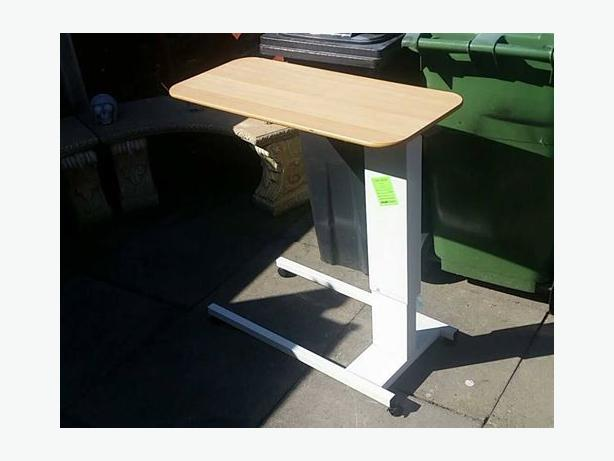 easi riser hospital over bed table