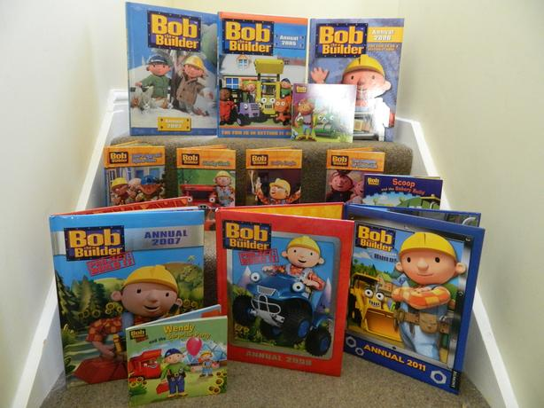 Bob the Builder book selection