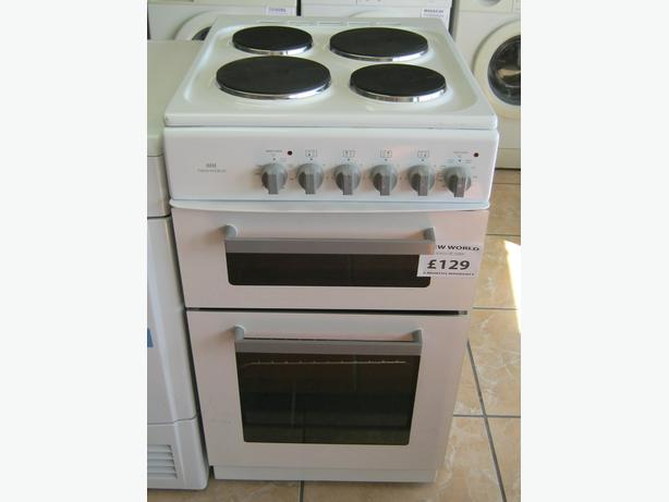 NewWorld graded 50cm electric cooker with 6 month warranty - reduced