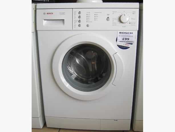 Modern Bosch 1200 Spin 6kg Washing Machine, 6 Month Warranty