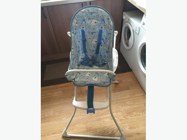 babys redkite high chair