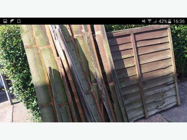 FREE: FIREWOOD OLD FENCES