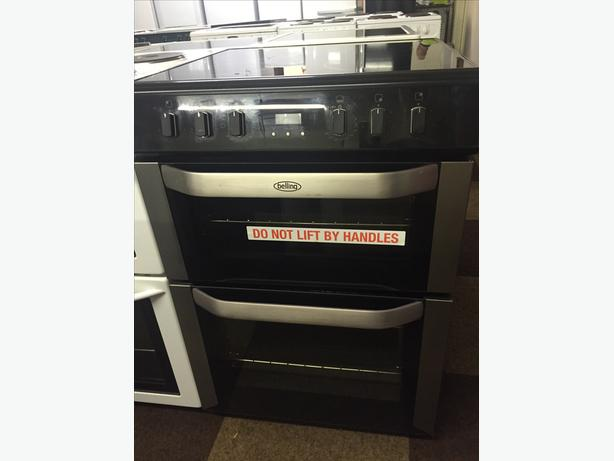 GREAT CONDITION BELLING 60CM WIDE ELECTRIC COOKER WITH GUARANTEE