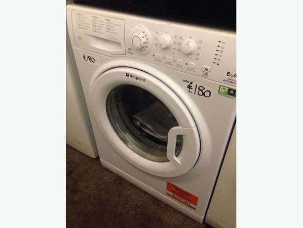 NEW HOTPOINT 6KG 1400 SPIN WASHING MACHINE01