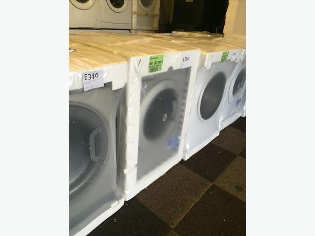 BRAND NEW WASHING MACHINES BOXED - WITH MANUFACTURES GUARANTEE