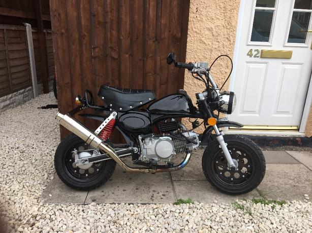 monkey bike 140cc
