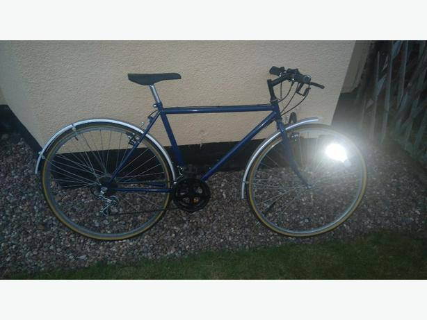 mens vintage push bike