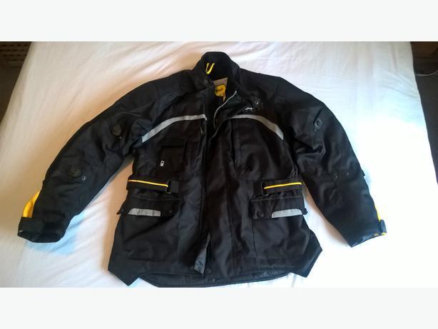 Mens G-Mac Pilot Waterproof Armoured Motorbike Jacket Black XL