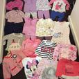 Large collection of excellent condition 6-9 months girls clothes.