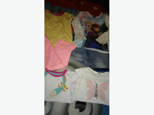 LARGE BUNDLE OF GIRLS CLOTHES AGE 2/4