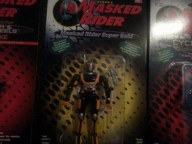 1995 Mask Rider Action FIgures & Cycle BRAND NEW!!!