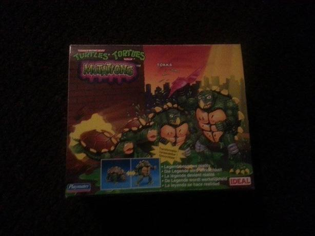 Teenage Mutant Hero Turtles Mutations Action Figures (moc) never opened