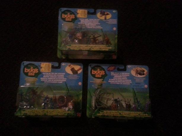 A bugs life set of 3 1998