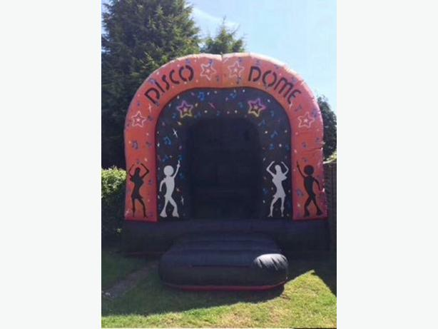 disco dome with light and speaker for hire