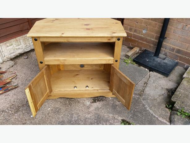 mexican corona pine tv unit