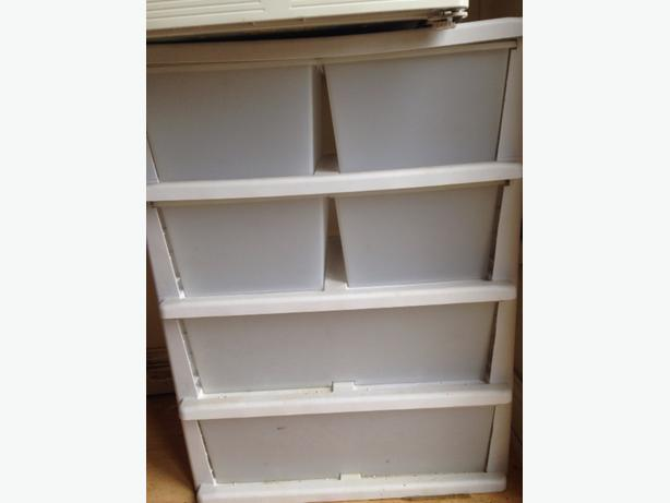 6 draw storage unit