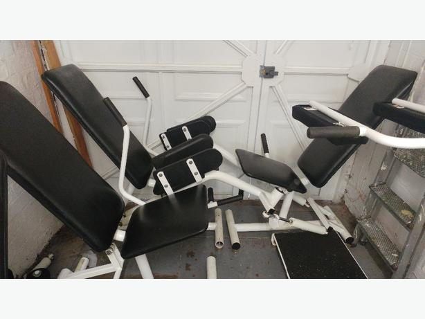 3x hydraulic gym machines