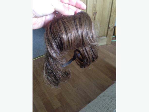 human hair fringe