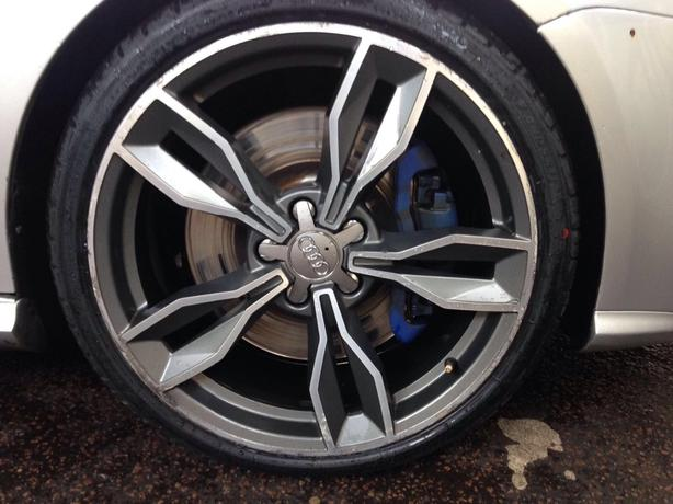 Audi s3 replica alloys