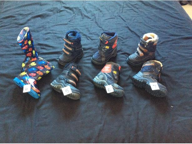 selection of boots