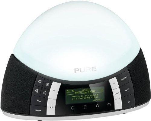 pure twilight dab radio alarm clock with lamp darlaston dudley. Black Bedroom Furniture Sets. Home Design Ideas