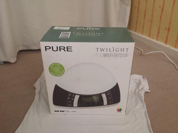 Pure Twilight DAB Radio Alarm Clock with Lamp
