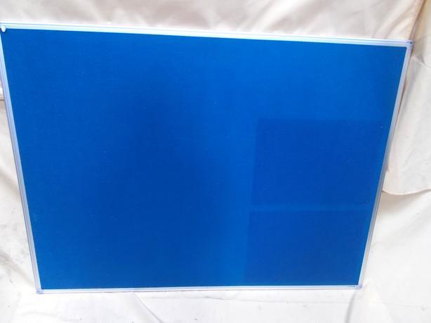 Blue Felt Notice Board 120 x 90cm