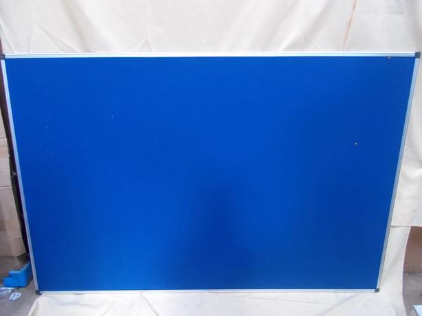 Blue Felt Notice Board 180 x 120cm